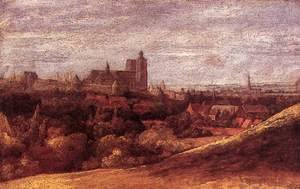 Hercules Seghers reproductions - View of Brussels from the North-East c. 1625