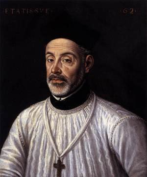 Alonso Sanchez Coello reproductions - Diego de Covarrubias 1574