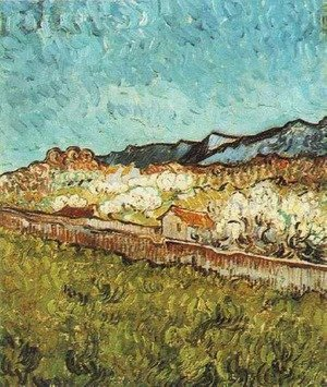 Reproduction oil paintings - Vincent Van Gogh - At The Foot Of The Mountains