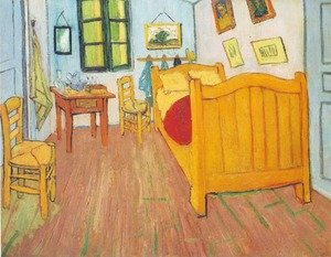 Reproduction oil paintings - Vincent Van Gogh - The Bedroom