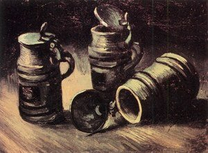 Reproduction oil paintings - Vincent Van Gogh - Beer Tankards