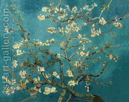 Blossoming Almond Tree by Vincent Van Gogh - Reproduction Oil Painting