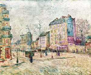 Reproduction oil paintings - Vincent Van Gogh - Boulevard De Clichy