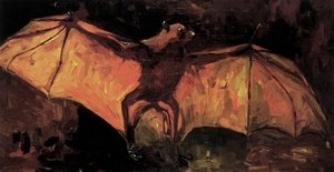 Famous paintings of Bats: Flying Fox
