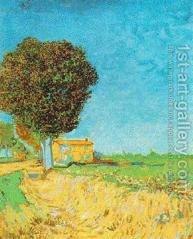 Vincent Van Gogh: Lane Near Arles A - reproduction oil painting