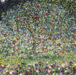 Gustav Klimt reproductions - Apple Tree I