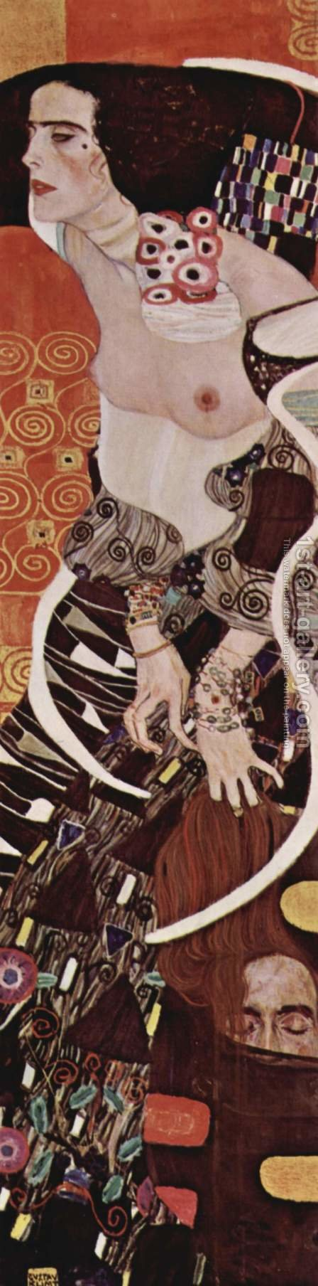 Judith I by Gustav Klimt - Reproduction Oil Painting