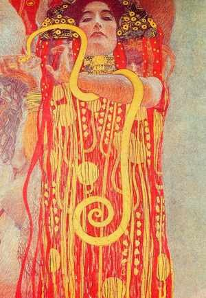 Reproduction oil paintings - Gustav Klimt - Medicine (Hygieia)