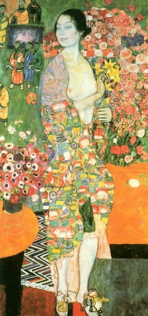 Reproduction oil paintings - Gustav Klimt - The Dancer