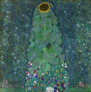 Reproduction oil paintings - Gustav Klimt - Sunflower