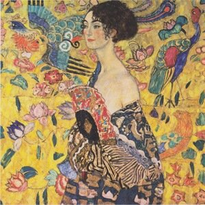 Reproduction oil paintings - Gustav Klimt - Lady With Fan