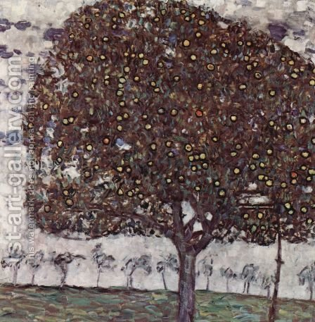 Apple Tree II 1916 by Gustav Klimt - Reproduction Oil Painting