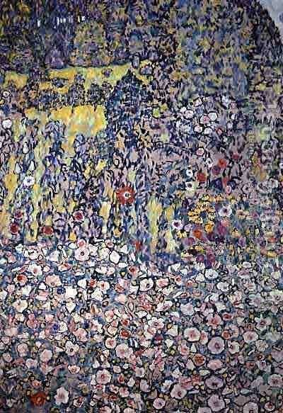 Garden On The Hill by Gustav Klimt - Reproduction Oil Painting