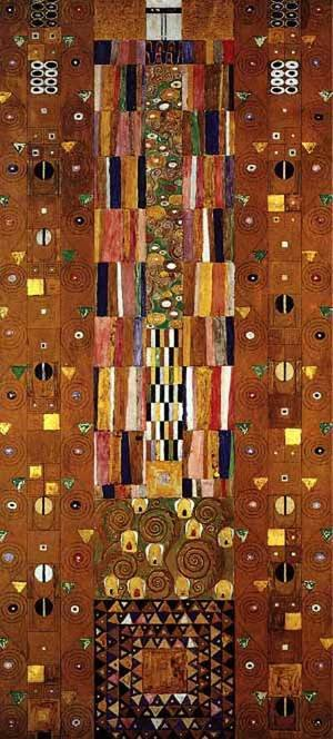 Reproduction oil paintings - Gustav Klimt - Stocletfrieze