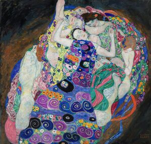 Reproduction oil paintings - Gustav Klimt - The Maiden