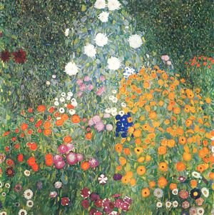 Reproduction oil paintings - Gustav Klimt - Farm Garden