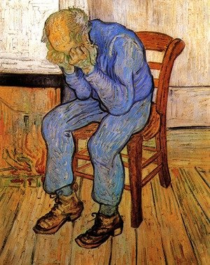 Reproduction oil paintings - Vincent Van Gogh - Old Man In Sorrow (On The Threshold Of Eternity)