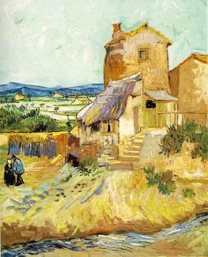 Famous paintings of Mills: The Old Mill