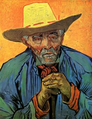 Famous paintings of Men: Portrait Of Patience Escalier