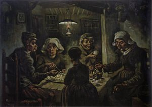 Famous paintings of Furniture: The Potato Eaters