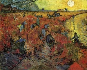 Reproduction oil paintings - Vincent Van Gogh - The Red Vineyard