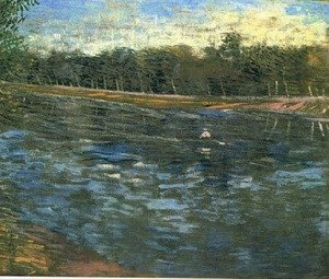 Reproduction oil paintings - Vincent Van Gogh - The Seine With A Rowing Boat