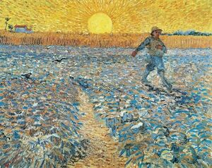 Famous paintings of Animals: The Sower