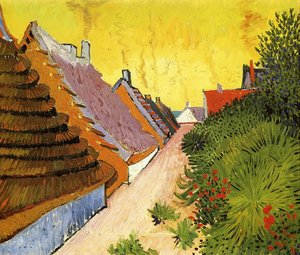 Reproduction oil paintings - Vincent Van Gogh - Street In Saintes Maries