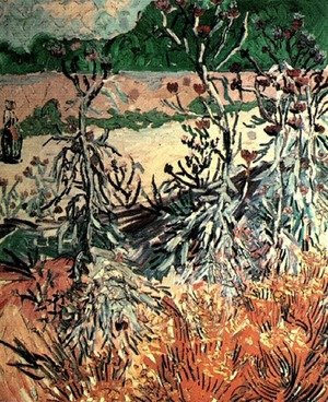 Reproduction oil paintings - Vincent Van Gogh - Thistles