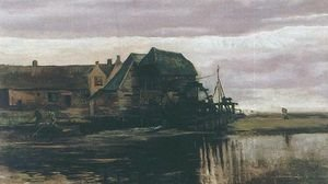 Famous paintings of Mills: Water Mill At Gennep II