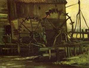 Famous paintings of Mills: Water Mill At Gennep III