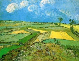 Reproduction oil paintings - Vincent Van Gogh - Wheat Fields At Auvers Under Clouded Sky
