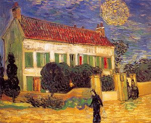 Reproduction oil paintings - Vincent Van Gogh - The White House At Night