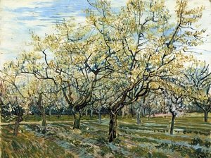 Famous paintings of Trees: The White Orchard