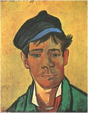 Reproduction oil paintings - Vincent Van Gogh - Young Man With A Cap