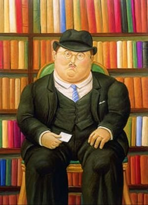 Reproduction oil paintings - Fernando Botero - The Notary