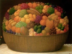 Basket Of Fruits Canasta De Frutas