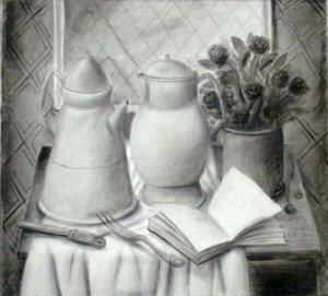 Famous paintings of Teapots: Still Life II