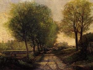 Reproduction oil paintings - Alfred Sisley - Lane Near A Small Town