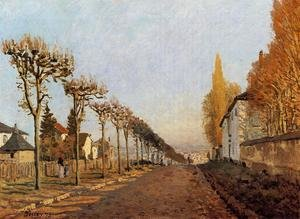 Reproduction oil paintings - Alfred Sisley - Chemin De La Machine Louveciennes