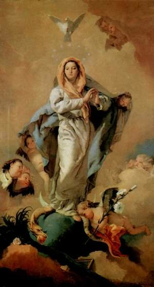 Giovanni Battista Tiepolo reproductions - The Immaculate Conception