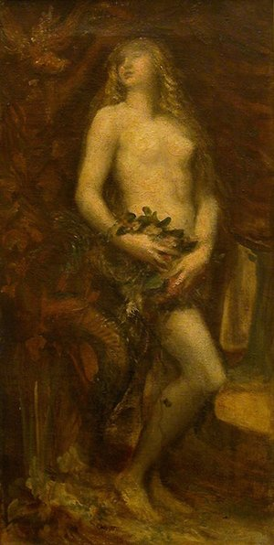 Reproduction oil paintings - George Frederick Watts - Eve Tentee