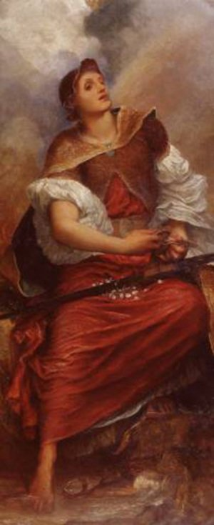 Reproduction oil paintings - George Frederick Watts - Faith C1890 6