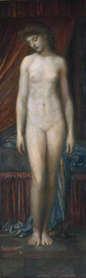 Reproduction oil paintings - George Frederick Watts - Psyche 1880
