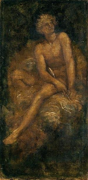 Reproduction oil paintings - George Frederick Watts - Study For  Hyperion