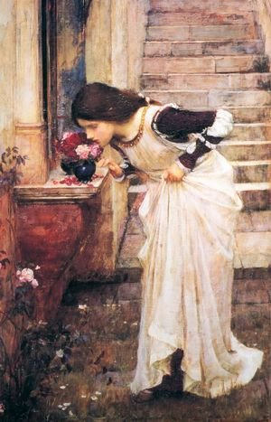 Reproduction oil paintings - Waterhouse - At The Shrine