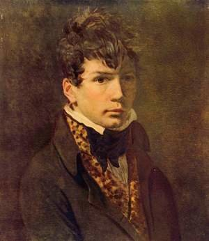 Reproduction oil paintings - Jacques Louis David - Portrait of Ingres 1800s