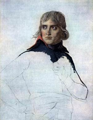 Reproduction oil paintings - Jacques Louis David - Portrait of General Bonaparte 1797