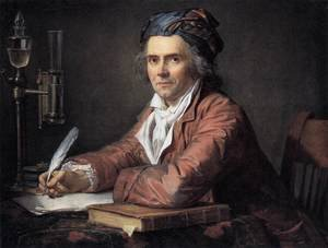Reproduction oil paintings - Jacques Louis David - Portrait of Doctor Alphonse Leroy 1783