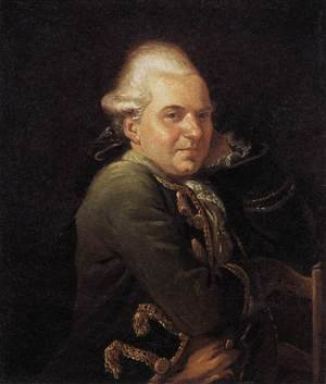 Reproduction oil paintings - Jacques Louis David - Portrait of François Buron 1769